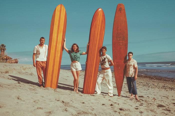 Levi's Vintage Clothing以西海岸冲浪文化为灵感,打造全新春夏复古系列