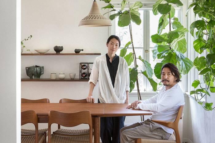 这对日本夫妻在洛杉矶改造了1948年的老宅,360平米的爱家温暖而静谧