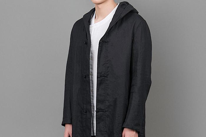 JOHNWEHL:用一点点解构主义 造一件时髦的中式连帽风衣