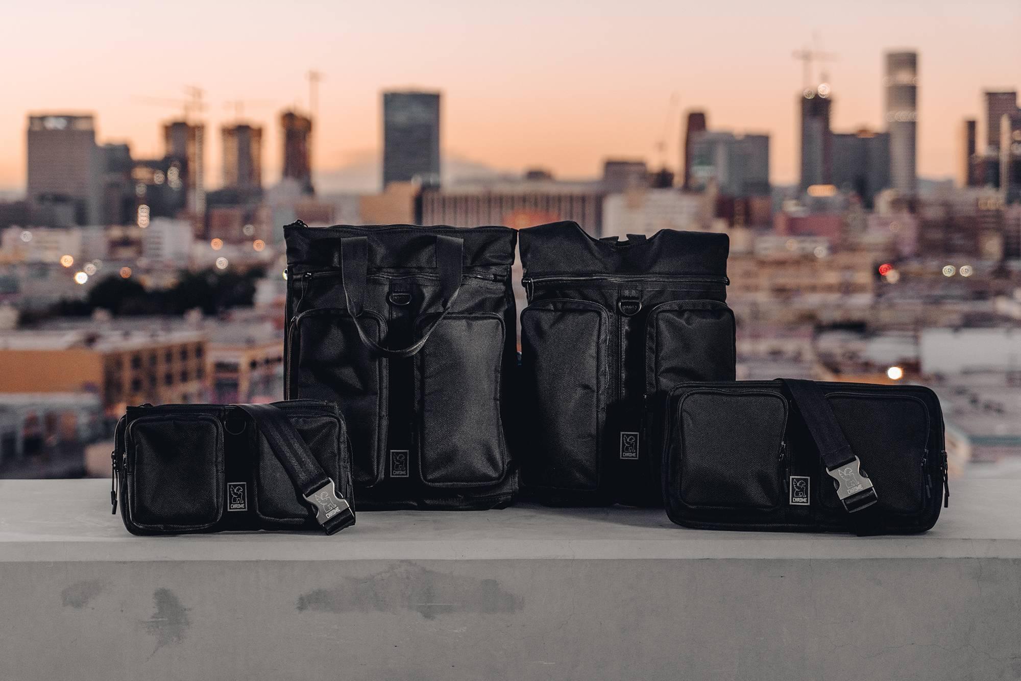Chrome Industries以涩谷文化为灵感,打造全新都市骑行包袋系列