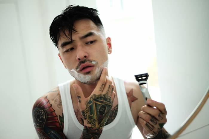 手动剃须刀对一个男人来说是一种仪式感的存在