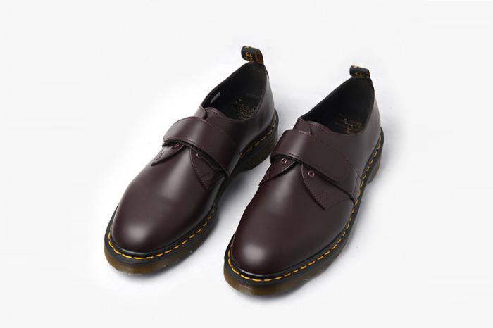 Dr. Martens推出春夏联名新款 无鞋带马丁难得一见