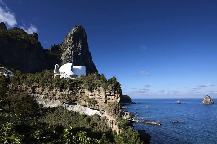 韩国KOSMOS郁陵岛山顶度假酒店,俯瞰无敌海景让你与天地对话