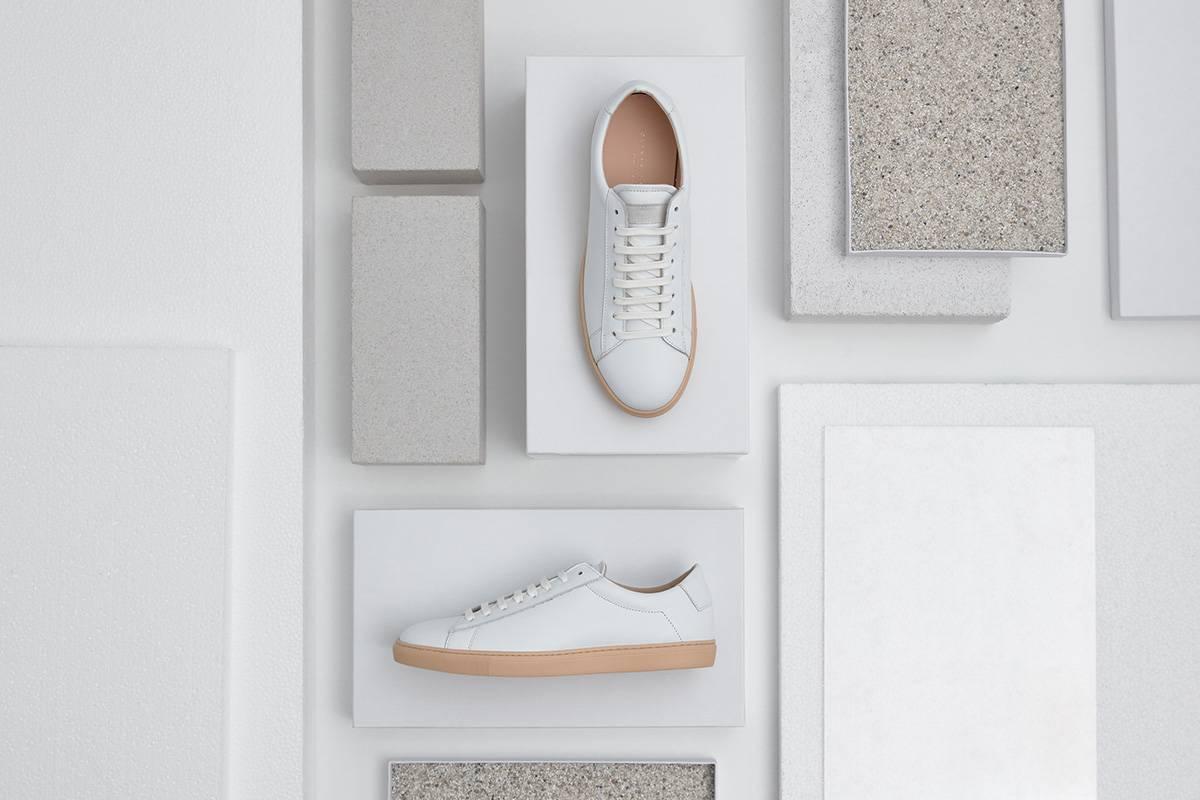 Oliver Cabell联名德国艺术家,打造全新极简主义手工小白鞋