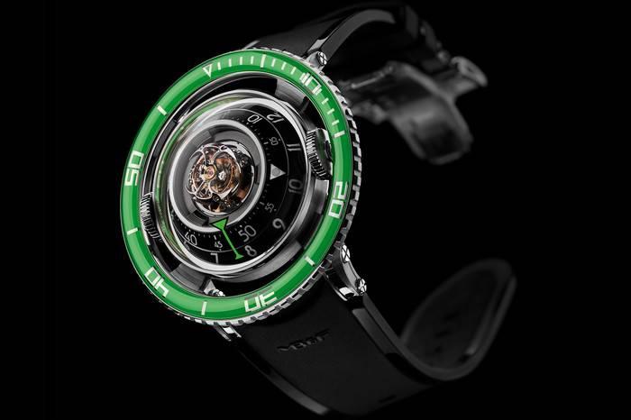 绿水鬼在它面前也不过如此,MB and F打造深海绿色幽灵奢华腕表