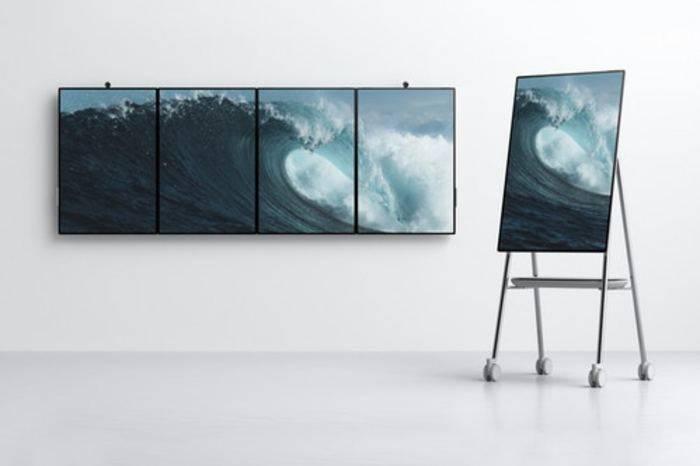 微软重磅发布Surface Hub 2,四屏联机进入未来工作模式