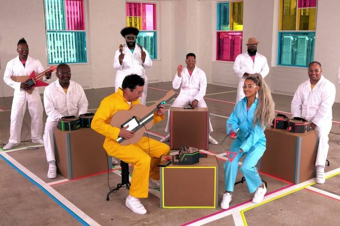 Nintendo Labo搞怪新玩法,这个美国传奇嘻哈乐队教你如何打开脑洞
