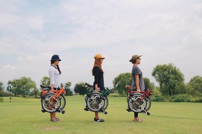 Brompton:哈里王子也在骑的折叠自行车