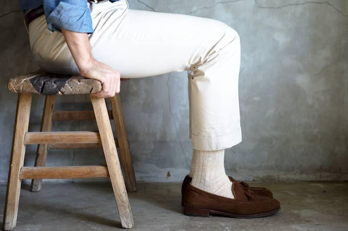 拯救直男审美的夏日正装袜穿搭指南