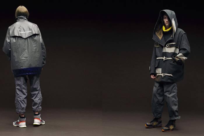 撞色 廓形 机能 Kolor 2018秋冬系列改变你对穿搭的刻板印象