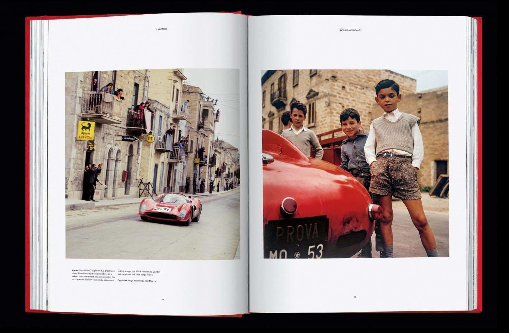 法拉利以顶级跑车引擎为灵感,打造全新历史奢华书籍