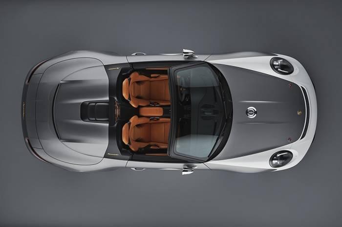 保时捷911 Speedster复古跑车亮相