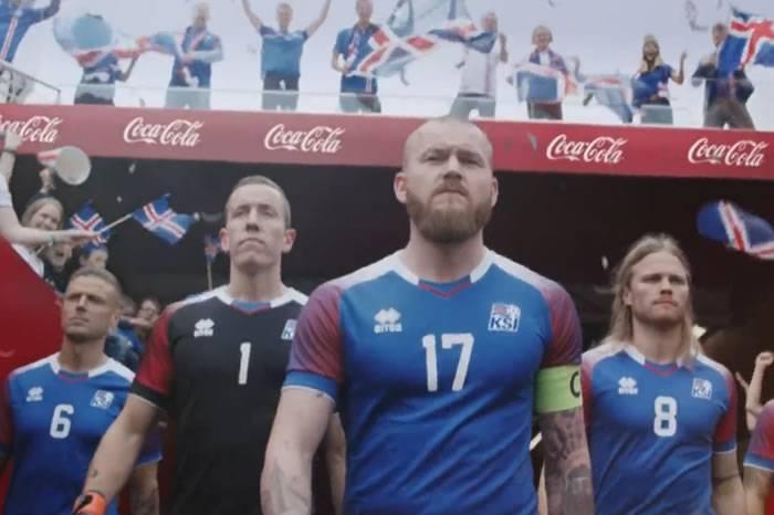 冰岛国家队门将有才,导演了这部可口可乐广告