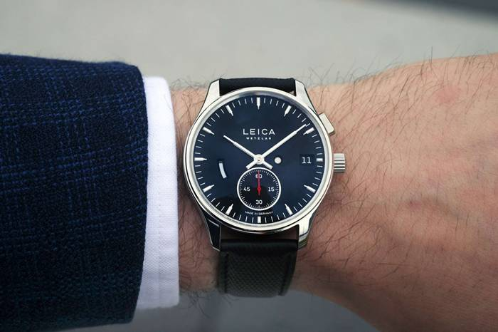 徕卡发布全新奢华机械腕表,经典相机元素的别样演绎