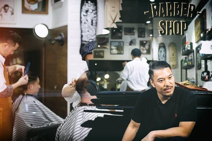 廿四味说唱组合打造的这家香港Barber Shop有何与众不同?