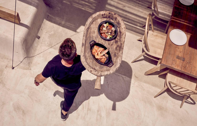 在爱琴海海边奢豪餐厅 体验第101种健康生活方式