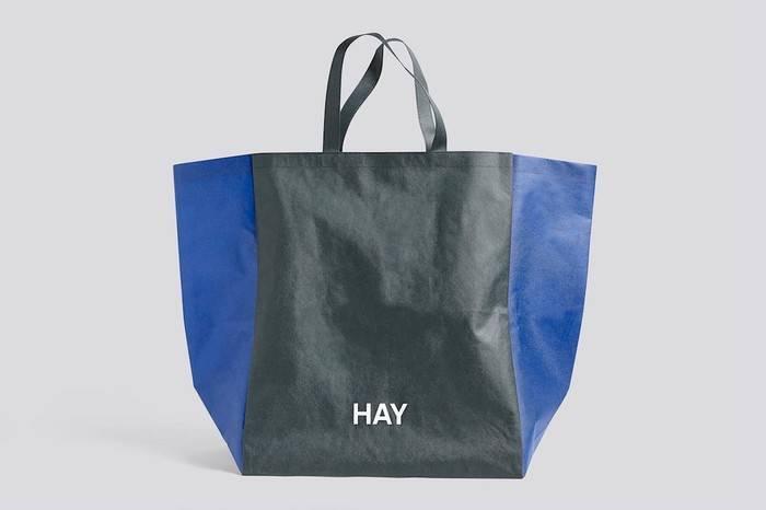 丹麦家具设计品牌HAY 发布北欧极简风环保购物袋