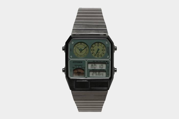 CITIZEN联手BEAMS复刻1982年赛博朋克超级腕表