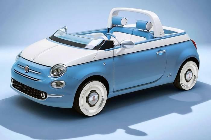 怎么可以如此可爱,菲亚特发布复古敞篷迷你版度假车型