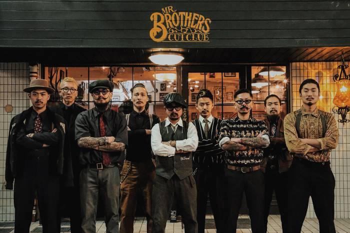 Mr. Brothers Cut Club,东京复古理容新坐标