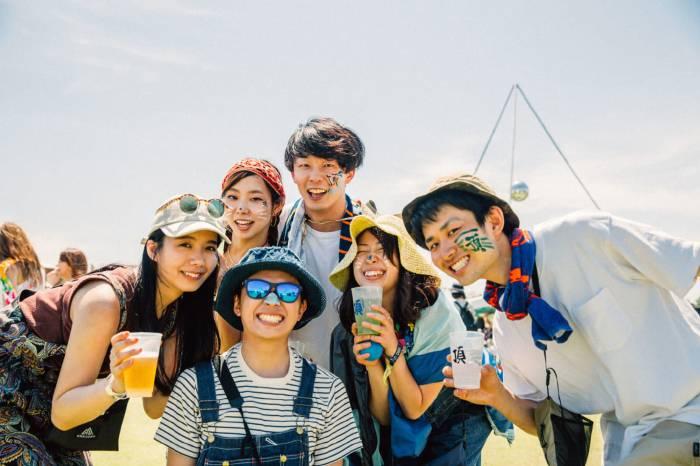 EYESCREAM x BEAMS:日本音乐节上时髦的年轻人们 (下)