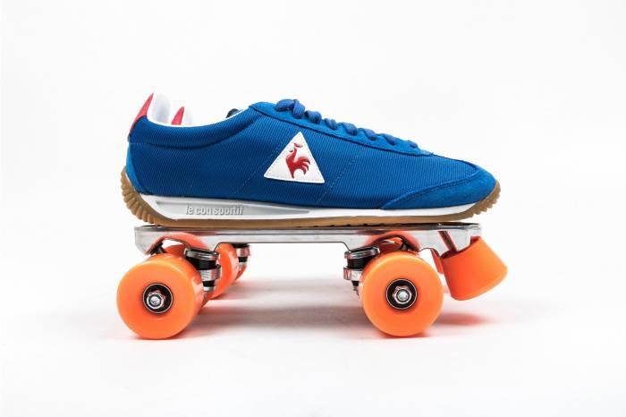 重新成为旱冰一族 le coq sportif推出复古轮滑球鞋系列