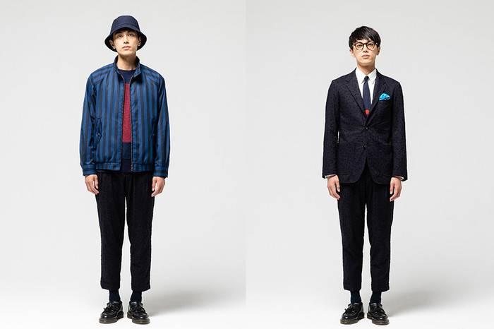 Blue Blue Japan释出2019春夏型录,当蓝染与时尚不期而遇