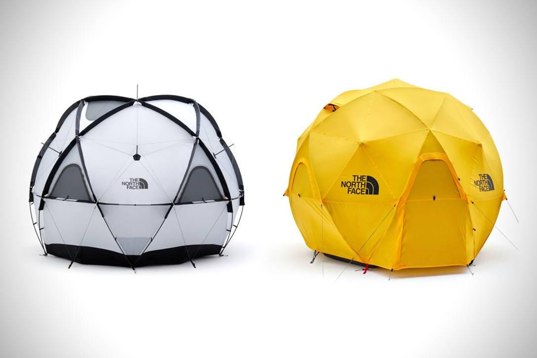 时髦露营的好拍档 The North Face推出日本版球体帐篷