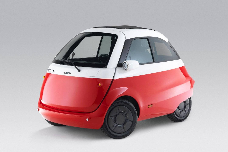 你小你先走,Microlino电动汽车让街头卖萌合法化