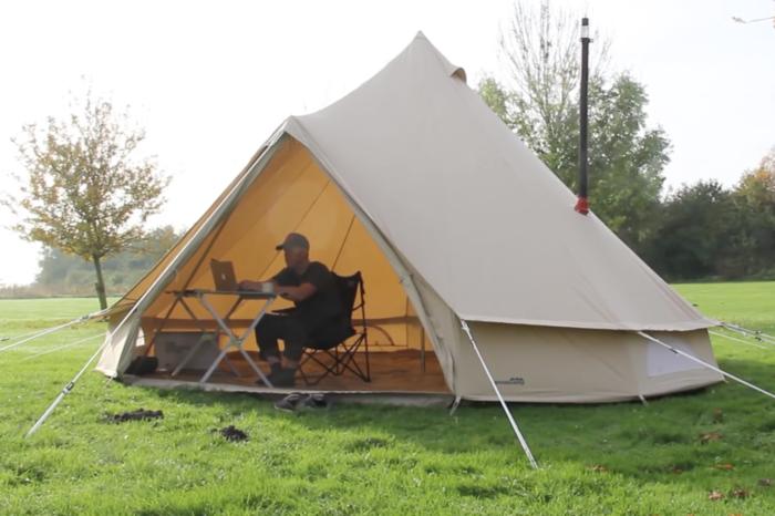 手把手教你搭建帐篷,为自己走向户外寻找第1000个理由