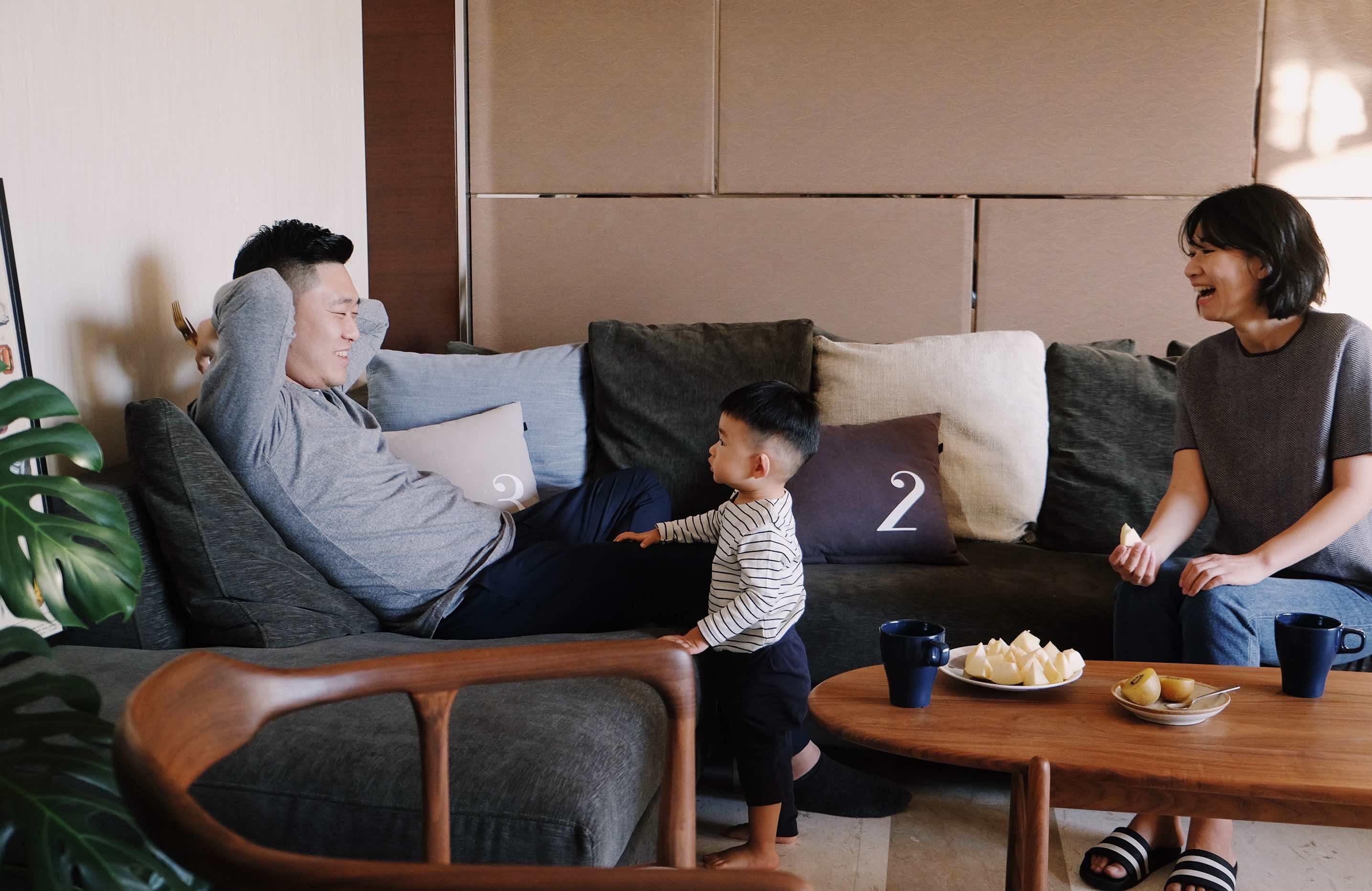 伊晨与大优和再再的北京之家, 将花园搬进家里陪孩子一起成长