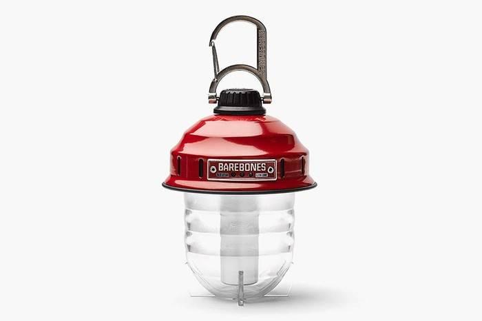 BAREBONES户外复古可充电灯具,营造高颜值温馨露营气氛
