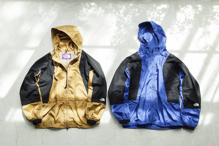 90年代复古拼色 THE NORTH FACE紫标山系功能夹克