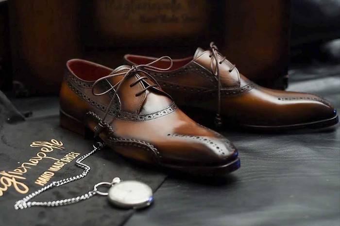 揭秘高级手工皮鞋完整制作过程,贵的不仅仅是手工的温度