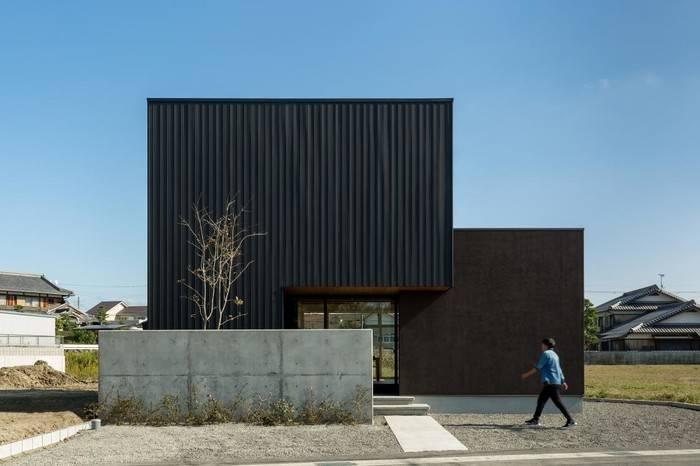 三田長先生的网格立体之家,享受自然田园中的惬意生活