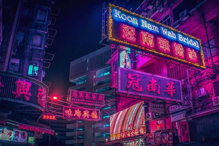 香港霓虹灯文化的前世今生,营造赛博朋克未来都市传奇