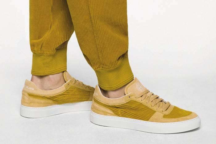 Stone Island x Diemme打造全新复古球鞋,意大利纯手工的街头之作