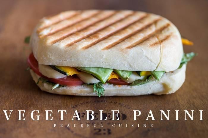 素食主义者的最爱,全蔬帕尼尼家庭私享版教学