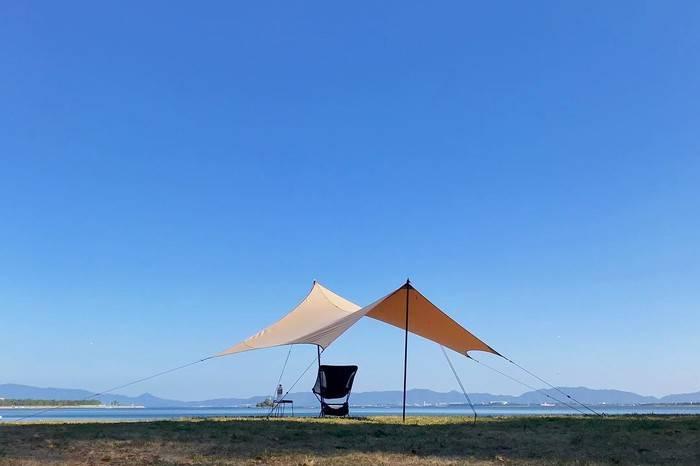 初次在海边露营一整天应该如何度过?