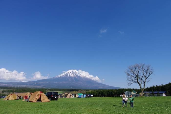 日本5大免费露营圣地推荐,感受富士山美景的全新体验方式