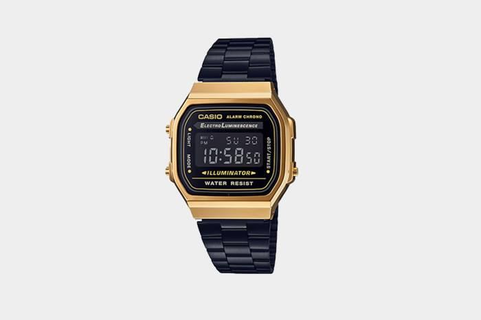 CASIO A168WE经典系列推出全新配色腕表,将复古进行到底