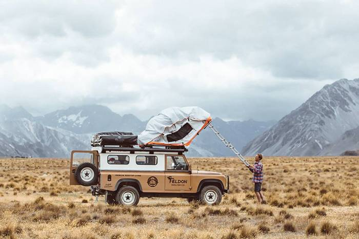 FELDON SHELTER豪华车载屋顶帐篷,奔向自然为你的心灵放个假