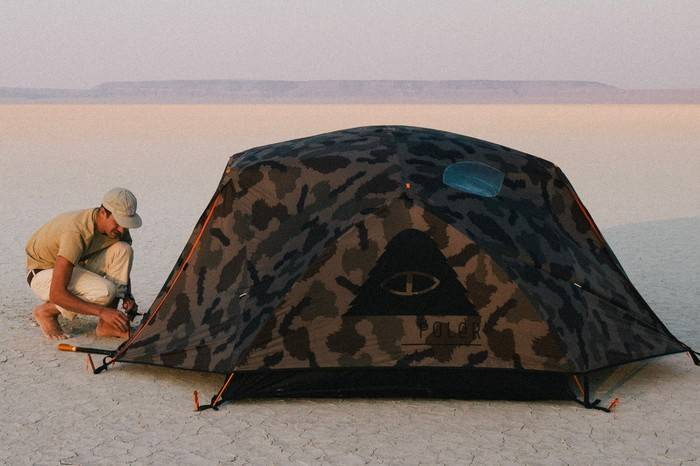 Poler Stuff高品质迷彩帐篷,开启你的秋日露营计划