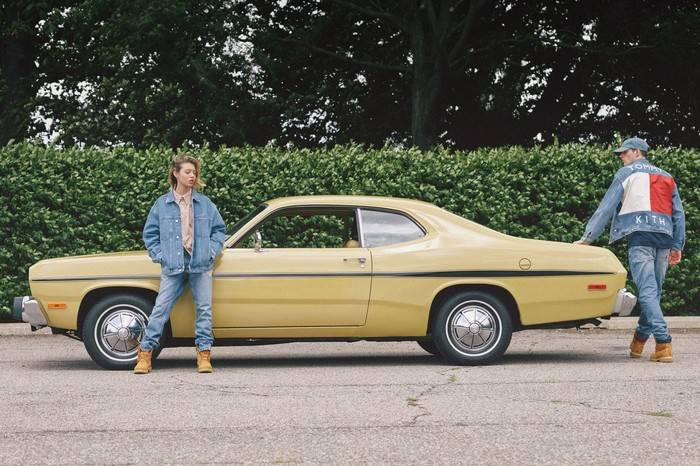 KITH x Tommy Hilfiger打造重磅联名系列,90年代复古风潮的全线回归