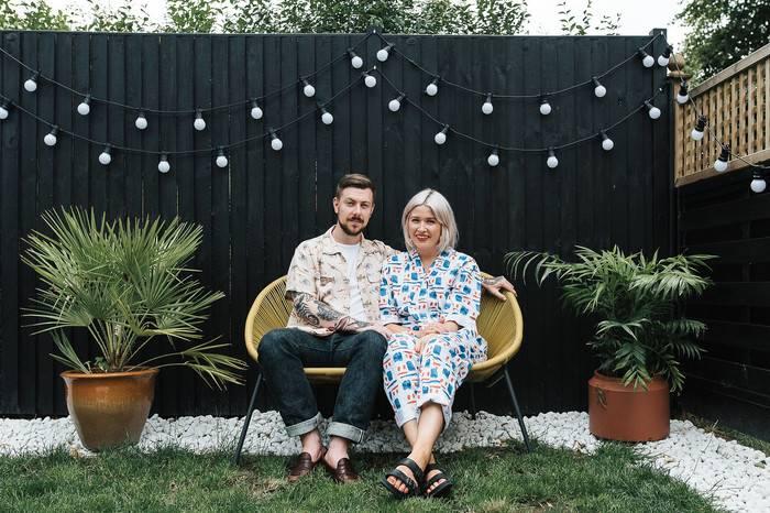 这位英国夫妻周游世界,为自己打造了座复古绿色品位之家