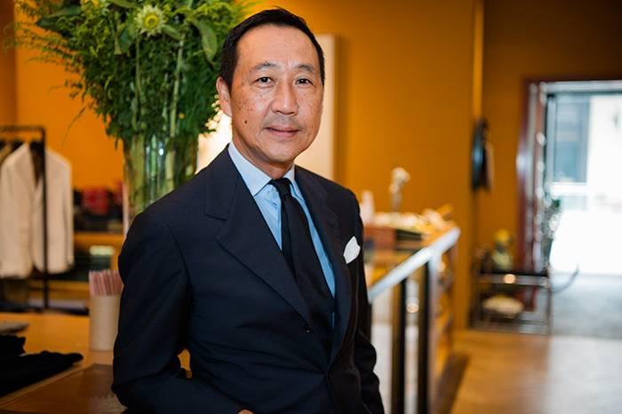 专访亚洲顶级绅士鸭志田康人, 服装是个人内在修养的语言表达