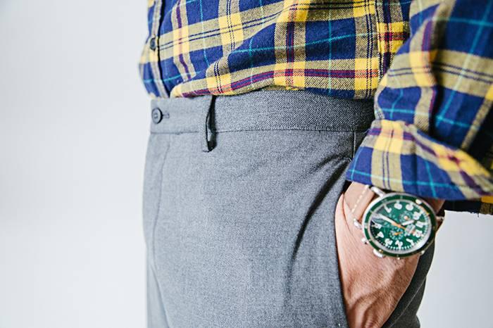 改变你这个固定逻辑,不同Size的西裤都可以穿的很帅气