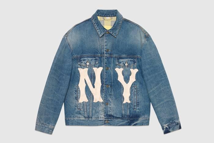 New York Yankees x Gucci打造全新美式复古学院风系列