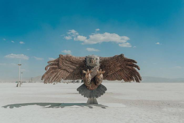 2018年火人节现场精彩回顾,一个只存在8天的沙漠乌托邦