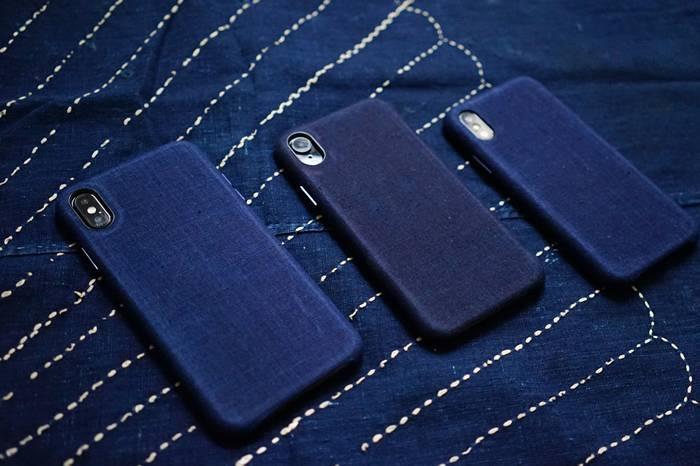 Simple Union采用百年日本古布,打造全新iPhone蓝染手机壳